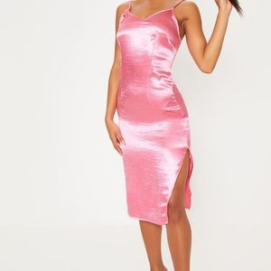 SOLD OUT Pretty Little Thing Satin Slip Midi Dress